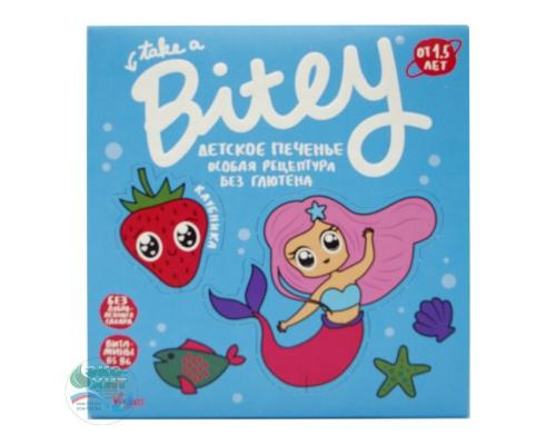 Печенье безглютеновое клубника Bitey 125 гр - низкая цена, высокое качество