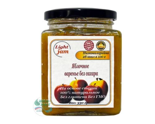 Варенье яблочное без сахара Light Jam 330 гр - низкая цена, высокое качество