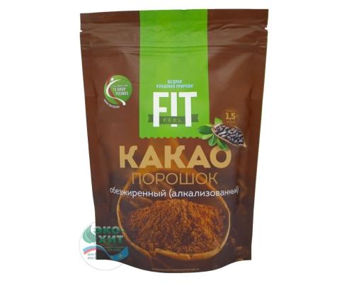 Какао обезжиренный порошок 1,5% натуральный ФитПарад 150 гр - низкая цена, высокое качество